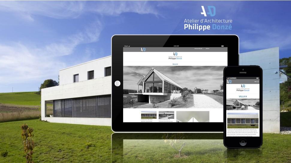 Atelier d 39 architecture donz nopixel communication for B architecture delemont