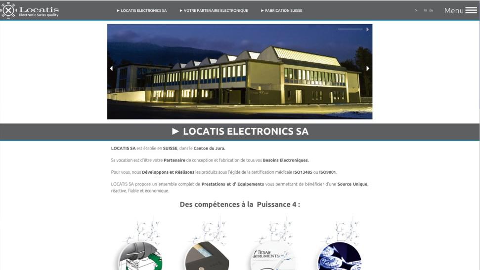 Locatis electronics sa nopixel communication visuelle for B architecture delemont