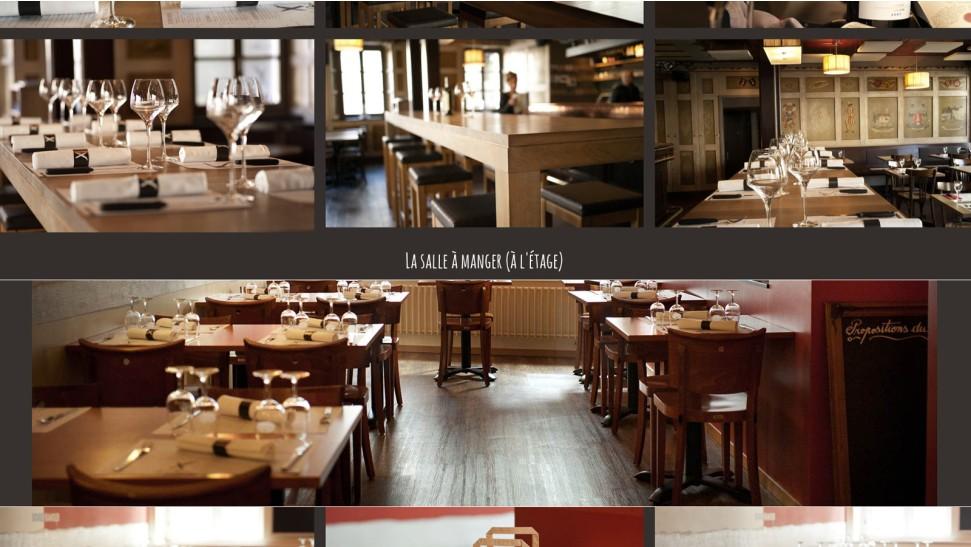 Restaurant de la croix blanche nopixel communication for B architecture delemont